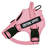 voopet Service Dog Harness, No-Pull Emotional Support Pet Vest...