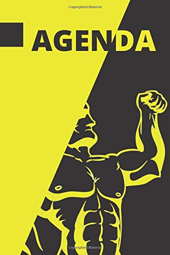 AGENDA LIFE STYLE: Athlete note, weight control, calories count, daily exercise. 6 x 9