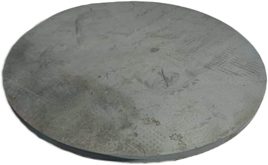 MHUI Round Hot-Rolled Steel Plate New York Mall Diameter o Pack 3.9Inch Circle NEW before selling