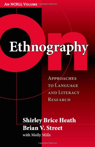 On Ethnography Approaches To Language And Literacy Research Language And Literacy Series Teachers College Pr