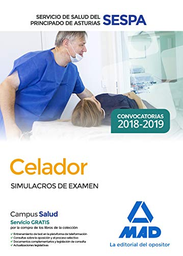 Celador del Servicio de Salud del Principado de Asturias (SESPA). Simulacros de examen