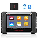 Autel MaxiPRO MP808TS Outil avancé de Diagnostic et d'analyse du Service TPMS, servicio de aceite, EPB, ABS/SRS y SAS, DPF, BMS Tablet Android avec écran Tactile LCD Pouces