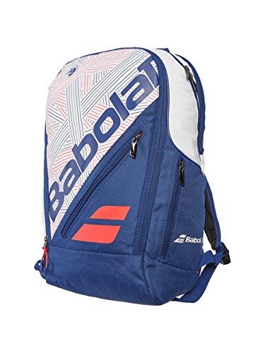Babolat Team Expand–Mochila de tenis (Blanco/Azul)