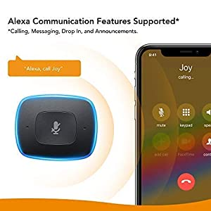 Roav VIVA, Alexa Enabled 2-Port USB Car Charger for In-Vehicle Navigation, Hands-Free Calling and Music Streaming (Spotify Available Soon). For Cars with Bluetooth/CarPlay/Android Auto/Aux In