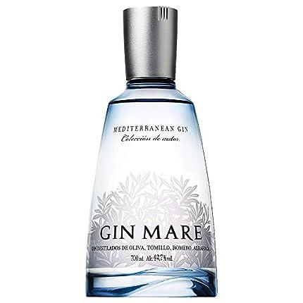 Gin Mare - Ginebra Premium Mediterránea con Botánicos Naturales, Botella de 700 ml