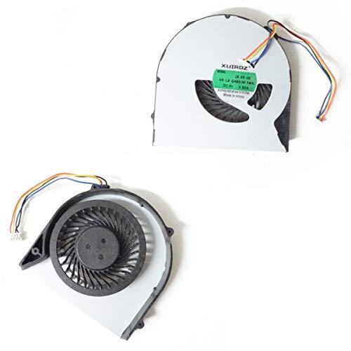 Bucom Ventilador para IBM Lenovo IdeaPad G580G580A g580am 3000Fan Enfriador 4Pin