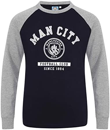 Manchester City FC Officiel Motif Graphique T-Shirt th/ème Football pour Enfant
