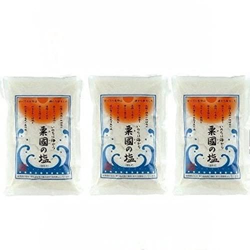 粟国の塩 500g × 3袋セット 粟國の塩 釜炊き 開封日シール付き