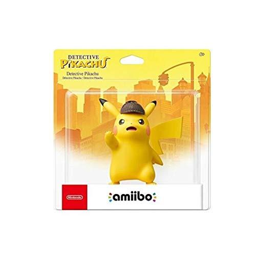Luckly77 Pokemom Amiibo - Gran Detective Pikachu Colección Exquisita Figura, Multicolor Paisaje de la decoración Adornos