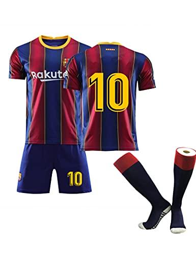 SUSIE Club fútbol,Temporada 2020/2021 B-ARC-a 10# M-ESS-i,Jugadores-Camiseta y Pantalón Infantil Primera Equipación Kit