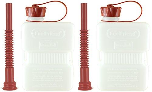 FuelFriend®-Plus Clear - Jerrican 1.0 Litre + Bec verseur Flexible - 2 pièces à Un Prix spécial
