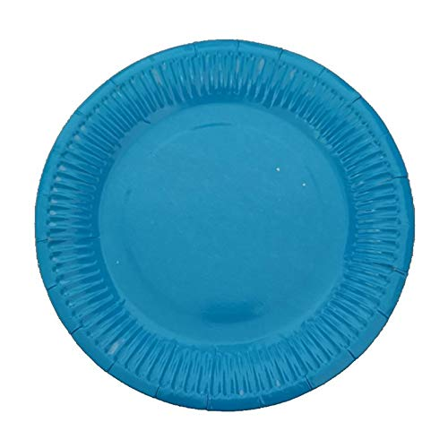 UKYukiko - Plato de papel desechable para tartas (10 unidades)