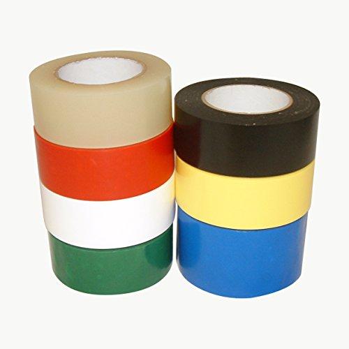 Scapa 136 Polyethylenfolien-Klebeband, 7,6 x 91,4 m, 3 in. x 36 yds. (72mm x 33m), gelb, 1