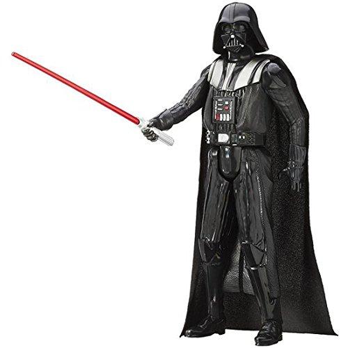 Wecken von Star Wars Force 12 Zoll Figur Darth Vader gemalt Actionfigur