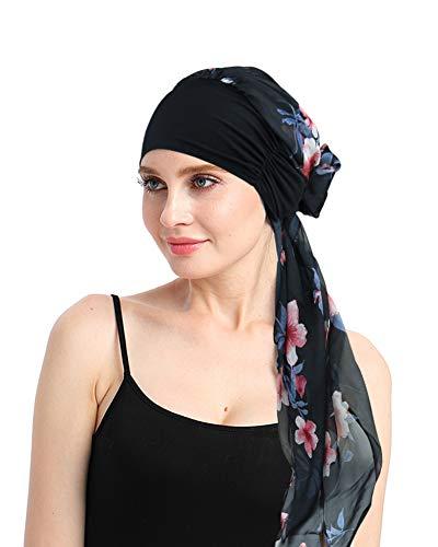 FocusCare Turban Kopf wickelt für Frauen Chemo Bambus hüte für Krebs