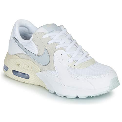 Nike Air MAX Excee Zapatillas Moda Mujeres Blanco/Azul - 40 - Zapatillas Bajas Shoes