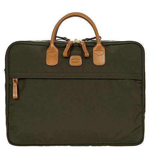 Große Aktentasche X-Travel, Einheitsgröße.Olive