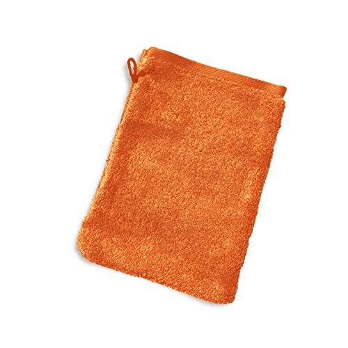 Linnea Gant de Toilette 16x21 cm Pure Orange 550 g/m2