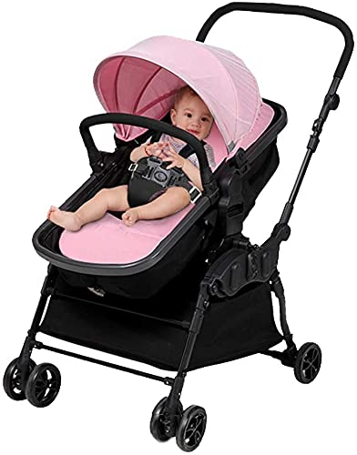 Bebé columpios para bebés, swing de bebé 3 en 1 con respaldo ajustable, cochecito de bebé plegable para bebés Bebé con swing de 3 velocidades, pliegue compacto para almacenamiento o viaje