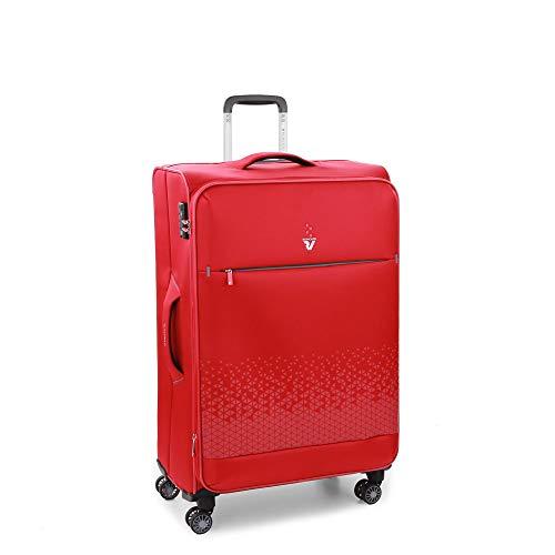 Roncato Crosslite Maleta Grande Expansible Rojo, Medida: 75 x 48 x 29/32...
