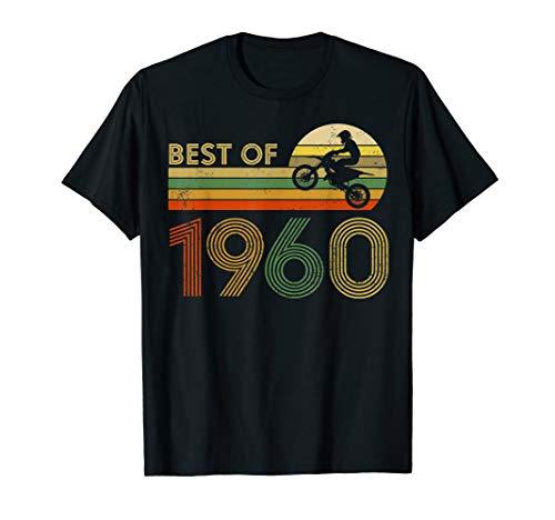 Vintage Dirt Bike Best of 1960 60th Birthday Riding T-Shirt