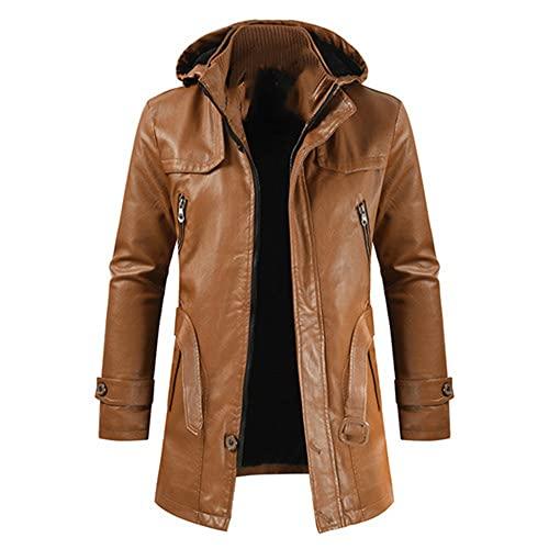 NP Chaqueta hombres casual capucha capucha chaqueta de ajuste para hombres
