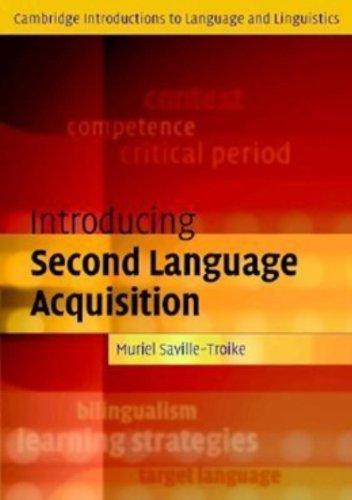 Introducing Second Language Acquisition (Cambridge...