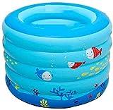 Xiaoyue Sommer-bewegliche bewegliche Baby-Badewanne, aufblasbar klein Home Swimmingpool, Infant Dusche Waschbecken mit weichen Kissen Zentralsitz, Kleinkind Lounge Gartendeko Garten Hinterhof lalay