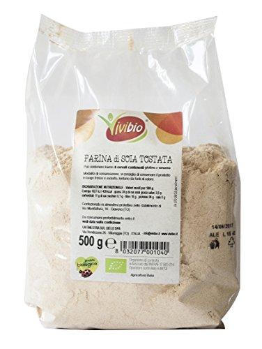 Vivibio Farina di Soia Tostata - 500 gr