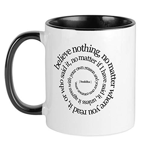 CafePress Buddha Quote Mug Unique Coffee Mug, Coffee Cup