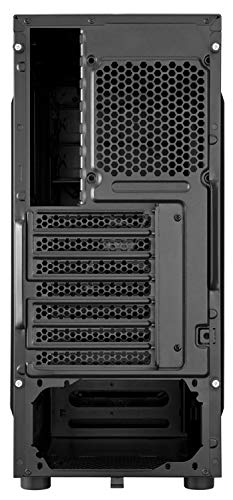 Corsair Carbide Series CC-9011050-WW Mid-Tower Steel Gaming Case with Red LED (Black)