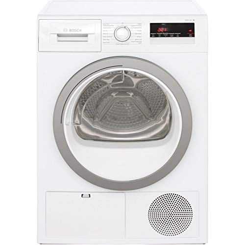 Bosch Serie 4 WTN85250GB 8Kg Condenser Tumble Dryer - White