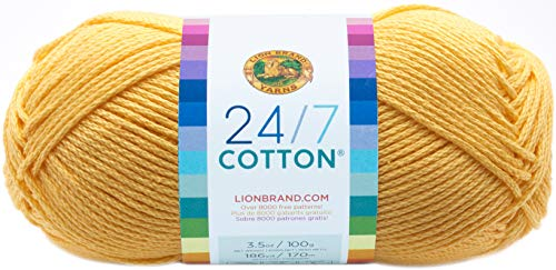 Lion Brand Yarn 24-7 Cotton Yarn