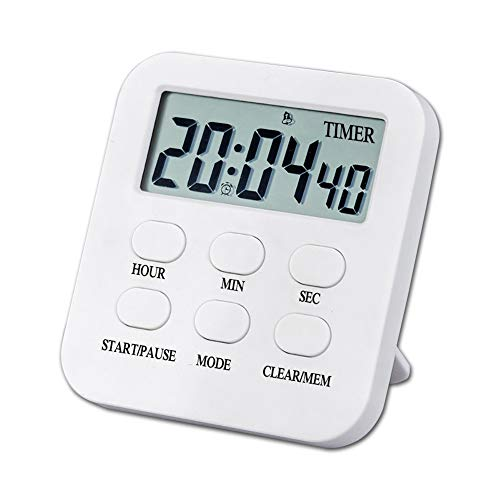 GuangTouL Digital Kitchen Timers, 3 in 1 Magnetic Countdown/up Cooking Kitchen Timer with Loud Alarm, Big Digits, Back Stand, Best Gift for Kids, Teachers, Wife,Mom