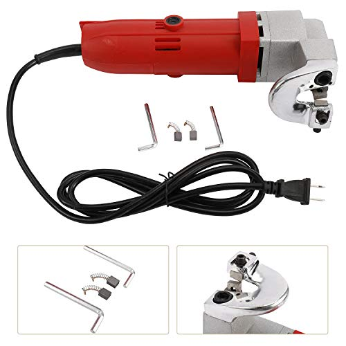 Big Save! YaeMarine 500W Electric Iron Scissors Sheet Metal Snips Cutter Nibbler Power Tool 110V