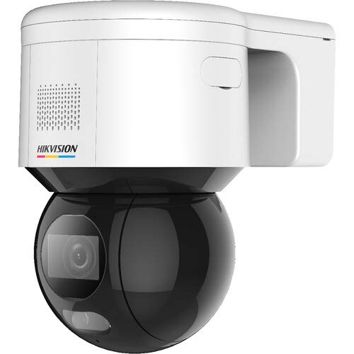 Hikvision DS-2DE3A400BW-DE ColorVu 4MP Outdoor Pan & Tilt Network Dome Camera with Microphone and...