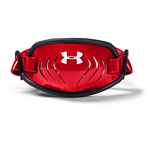 Under Armour Boys' Spotlight Chinstrap Youth , Red (600)/White , One Size Fits All