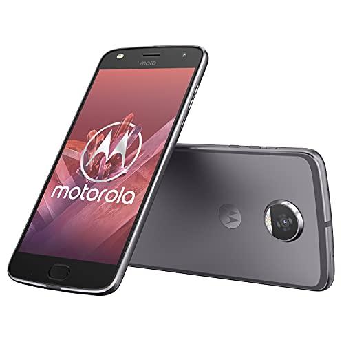 moto z2 play 13,97 cm (5,5 Zoll) Full HD Smartphone (Octa-Core Prozessor, 12MP Kamera, 4G LTE, NFC, 64GB Speicher, JBL SoundBoost, Dual-Nano-SIM, Android 7.1 Nougat) grau