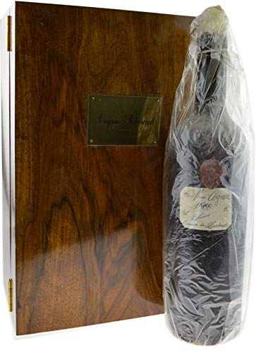 Rarität: Lheraud Cognac 0.7l Jahrgang 1900 incl. Holzkassette und Zertifikat
