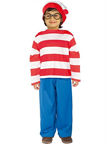 Rubie's - Disfraz de Wally infantil, talla L