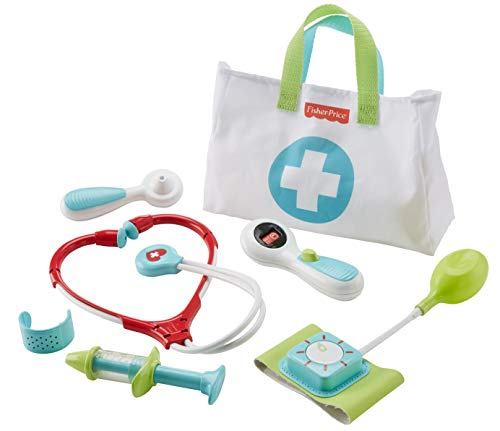 Fisher-Price Medical Kit, 7-Piece Pretend Play Set