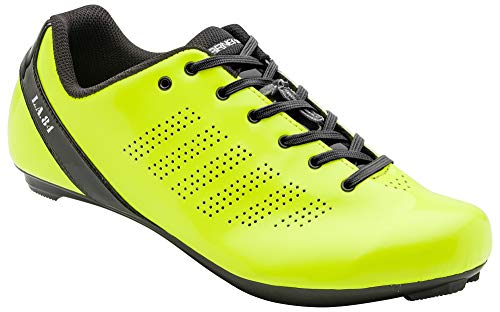Louis Garneau - Men's L.A. 84 Bike Shoes, Bright Yellow, US (11.5), EU (46)