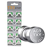 TXY 10pcs/Pack AG9 Alkaline Cell Battery 110mAh Long Lasting Button Batteries