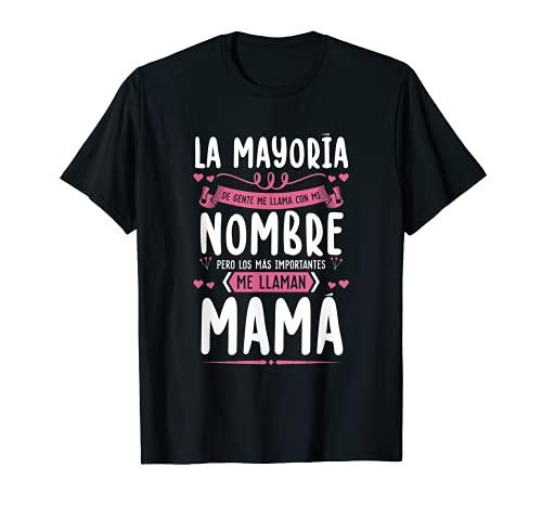 Día de la Madre Camiseta Mamá Regalo Madre Hiya Hijo Camiseta