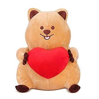 keaiart-ly Quokka Stuffed Animal Plush Toy Sitting-9.8inch