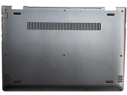 HT-ImEx - Carcasa inferior / parte inferior negra compatible con Lenovo Yoga 510-14AST, 510-14AST (80S9), 510-14IKB