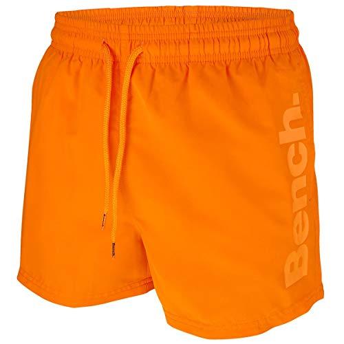 Bench Herren Badeshorts Badehose (M | 5, orange)