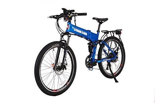 X-Treme E-Bikes Baja 48 Volt Electric Bicycle | Metallic Blue