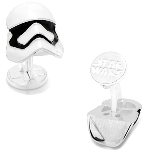 masgemelos Manschettenknöpfe 3d Stormtrooper Star Wars Cufflinks