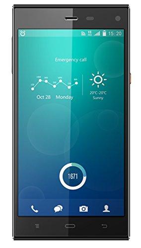 Phicomm Passion Smartphone (12,7 cm (5 Zoll) Full IPS-Bildschirm,1,5 GHz Octa-Core-Prozessor, 32GB interner Speicher, 13 Megapixel Kamera, Anroid 4.4 LTE)